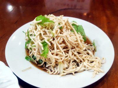 西船橋の居酒屋「猿八」の上海豆腐